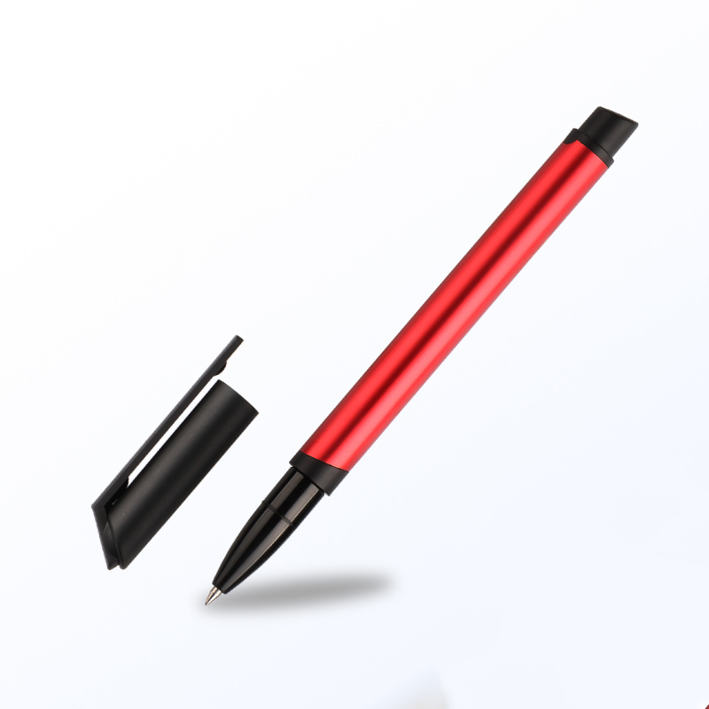 TERCEL Metal Roller Ball Pen Liquid-Ink  School & Office Supplies Writing pens Markers Cute Gel pens contracted gift art palace picasso brand black metal roller ball pen stationery school office supplies luxury writing birthday gift ball pens
