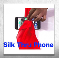 Silk Thru Phone close up magic 2017 New  Magic tricks,close-up magic,street magic,props,Illusion, Free shipping 400magic