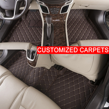 Personalizado Alfombrillas Coche Personalizado Especialmente para Jaguar XF XJ6 XJ6L 4 asientos 5 asientos XJL Pie Alfombras de Coche alfombras