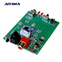 Aiyima Bluetooth 5.0 CSR8675 Transmitter Coaxial Optical Analog Input Support APTX HD 24BIT For Bluetooth Headphone Speaker DIY
