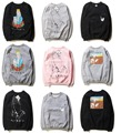 New York Fashion Brand Ripndip Hoodie&Sweatshirts Men Women Hip Hop O-neck Cotton Cartoon Pocket Cat Yeezy Ripndip Couple Hoodie