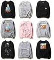 Nova Iorque Ripndip Hoodie & Camisolas de Marca de Moda Das Mulheres Dos Homens de Hip Hop O-pescoço Bolso Do Gato Dos Desenhos Animados de Algodão Yeezy Ripndip Casal moletom com capuz