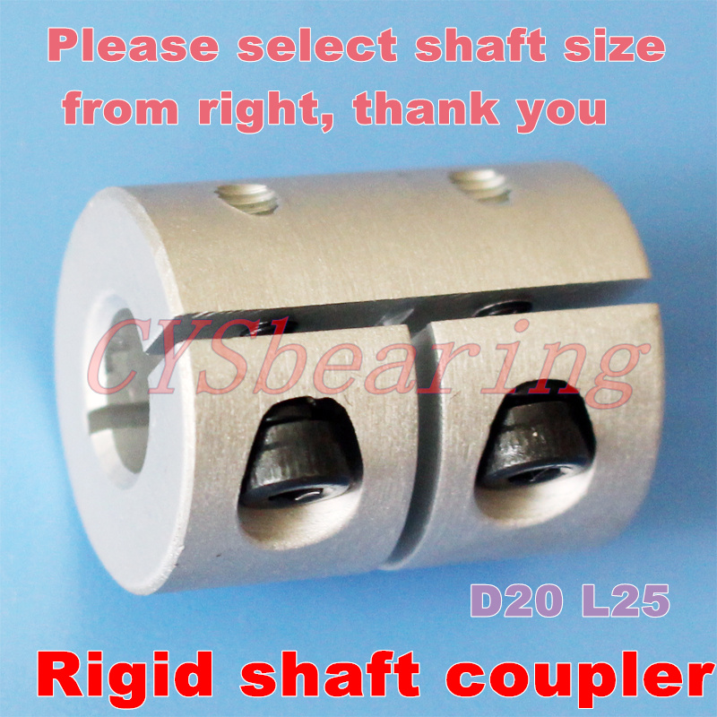 4mm x 5mm Small Rigid Shaft Coupler Stepper Servo Motor CNC Coupling 3D Printer