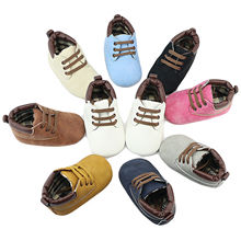 Pudcoco First Walker Baby Shoes Toddler Kids Baby Toddler Boys Girl Floral Casual Sneakers High Top Lace Up Soft Shoes