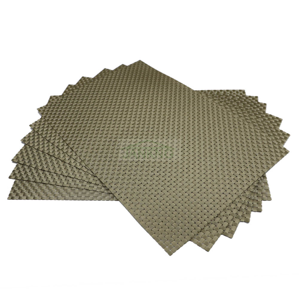 Lot 45*30cm Gold Silver Pvc Dining Table Placemat Tableware Pad Coffee  Tea