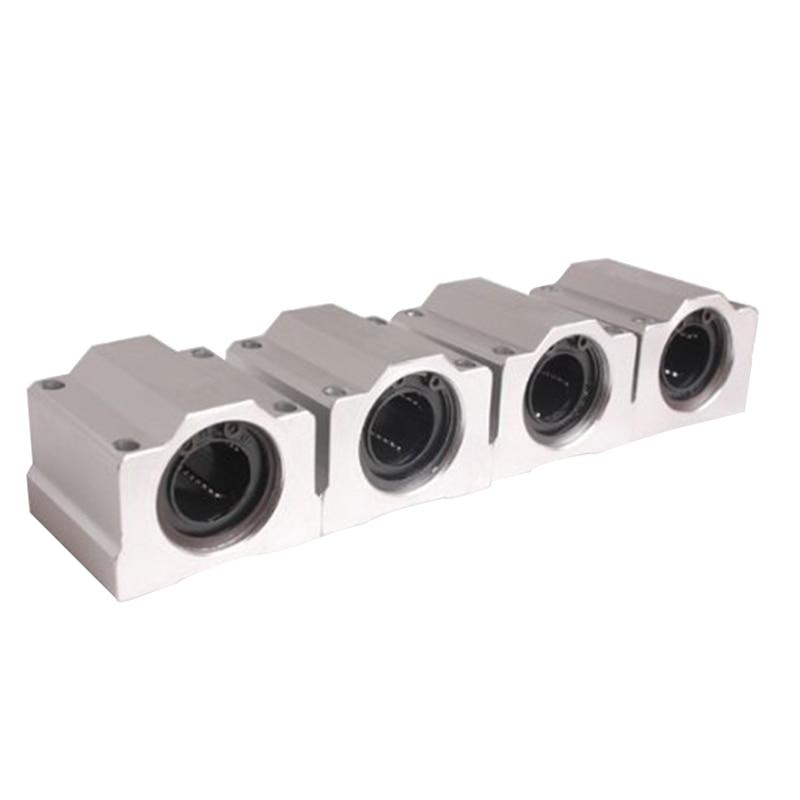 8mm Linear Motion Adjustable Balls Bearing//Bushing Set4