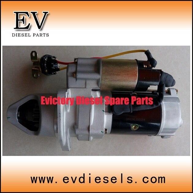 For Mitsubishi engine parts 8DC9  8DC10 starter motor 13 teeth 24V
