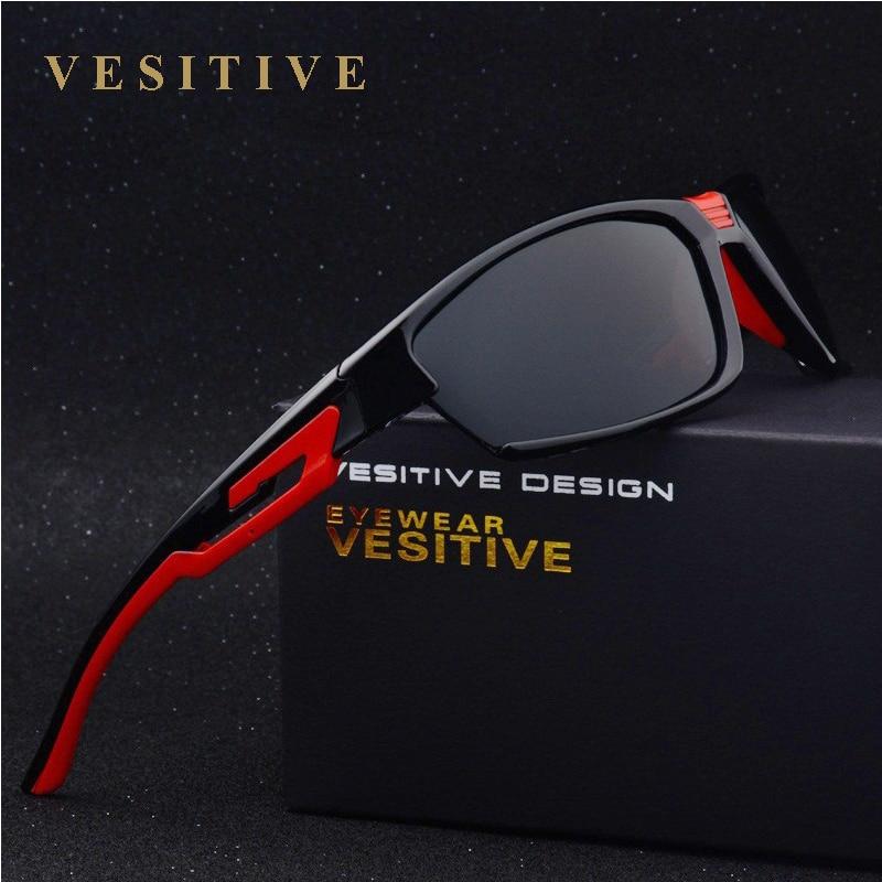 Vesitive الساخن بيع يستقطب نظارات الرجال 2017 الرياضة النظارات للقيادة الصيد الغولف gafas دي سول محب الأساسية