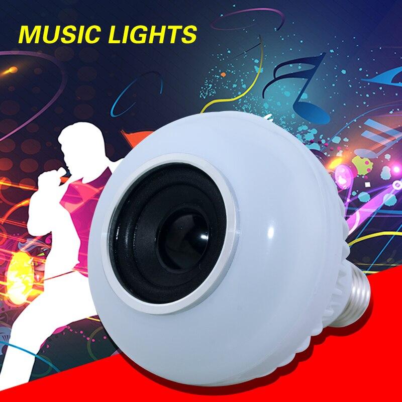E27 Smart Rgbw Wireless Bluetooth Speaker Lamp Music