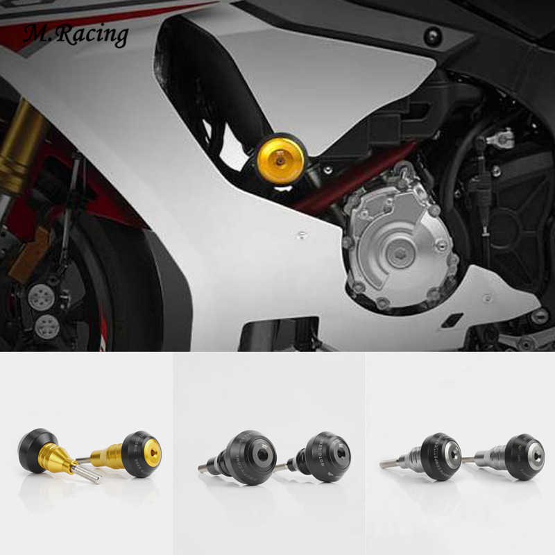 Falling Protectors Motorcycle CNC Aluminum Frame Slider Anti Crash Caps Engine Protection For R1 R1M R1S MT-10