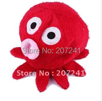 Free shipping New fashion Lovely Red Octopus Tissue Holder Paper Cover Roll Container Hot  2pcs
