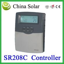 SR208C солнечного нагрева воды контроллер, soalr регулятор температуры
