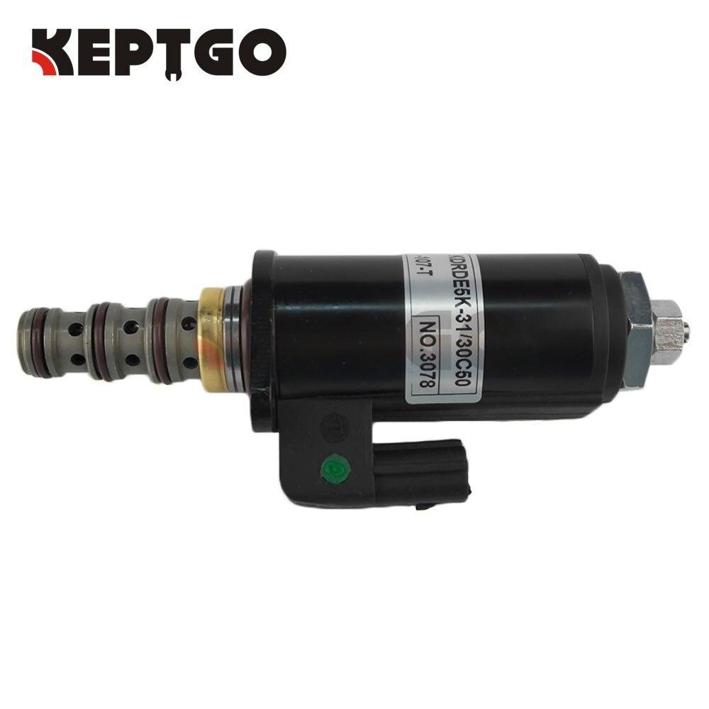 Proportion Solenoid Valve KDRDE5K-31//30C50-102//123 for KOBELCO SK200-6E