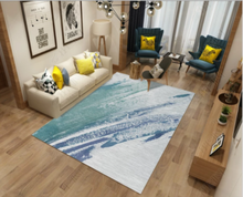 200*300cm Pastoral Printed Carpet Livingroom Home Decor Rug Sofa Coffee Table Floor Mat Soft Bedroom Study Room Rugs Kids