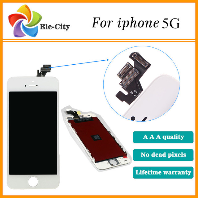 Aaa qualidade para apple iphone 5s 5g 5c display lcd com tela de toque digitador assembléia substituição preto melhor + tela de cinema