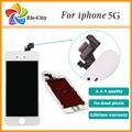 Calidad aaa para apple iphone 5s 5g 5c pantalla lcd con pantalla táctil digitalizador asamblea negro mejor + película de pantalla