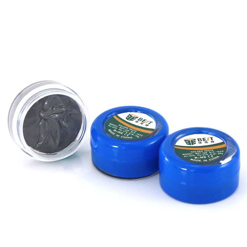 Solder Paste Welding Flux BST-328 50g Strong Lead-containing Silver Soldering Flux PCB BGA SMD Repair For Mobile Phone