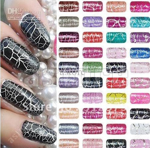 10 Pcs/lot + Hottest nail polish new arrival shatter crack crackle cracked style