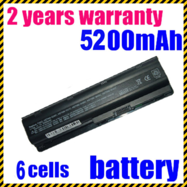 JIGU Laptop Battery for HP Pavilion DM4 DV3 DV6 G32 DV7  G62 DV5 G56 G72 for COMPAQ Presario CQ32 CQ42 CQ56 CQ62 CQ630 CQ72 MU06
