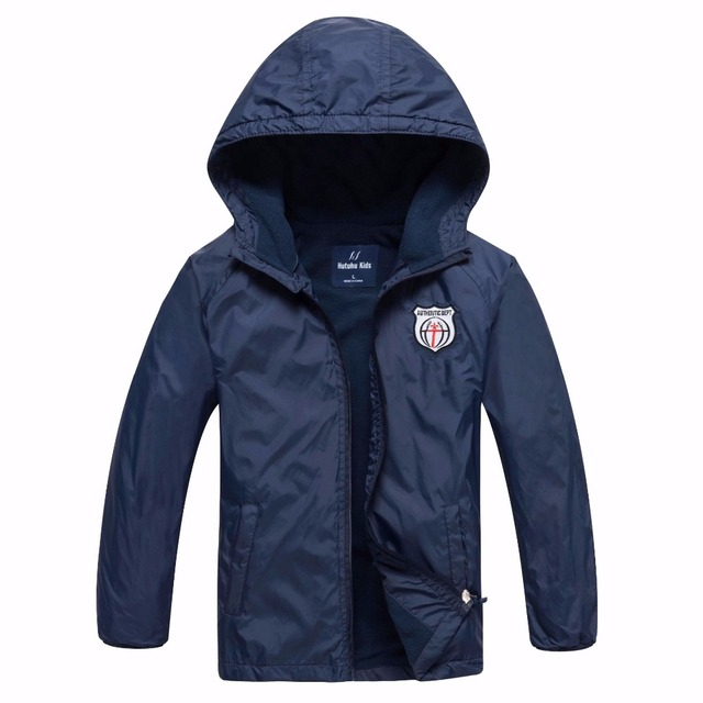Brand Waterproof Windproof Boys Jackets Children Outerwear Warm Coat Sporty Kids Clothes Double-deck For 3-12T