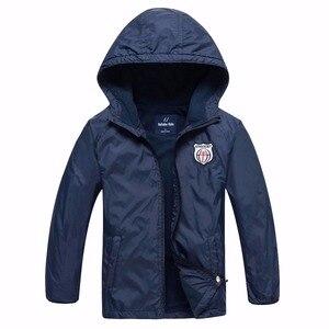 Image 1 - Chaquetas de lana impermeables para bebés, ropa de abrigo para niños, trajes para niños de 3 a 14 años