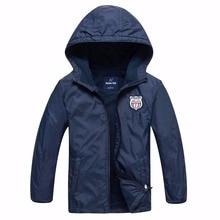 Marca primavera à prova de vento impermeável velo bebê meninos jaquetas crianças outerwear criança casaco crianças roupas para 3 14 anos de idade