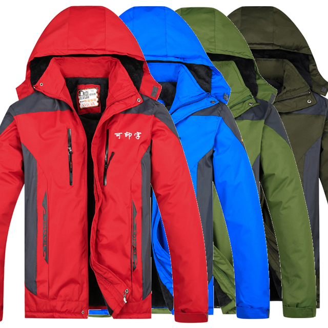 new styles 6a6fc c937c US $49.99  Giacca Giacche Impermeabili Impermeabile per Giacca A Vento  Abbigliamento Sportivo Freddo cappotto giacca imbottita funziona in Giacca  ...
