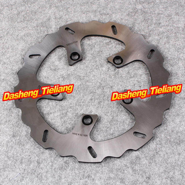 Arashi Rear Brake Disc Rotor For Kawasaki ZRX1100 1999 2000 & ZRX1200 ZRX1200R ZRX1200S 2001 2002 2003 2004 2005 2006