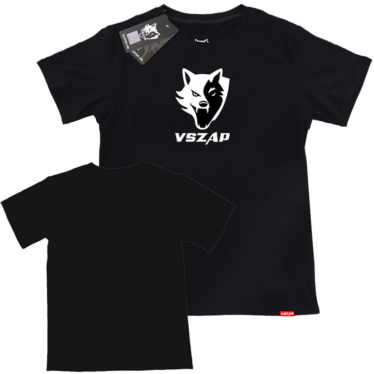 VSZAP Fighting Short Sleeve T-shirt Male Pure Cotton Stretch Fitness Muscle Fight  Free Combat MMA Jiu-jitsu Xia Wulin Wind