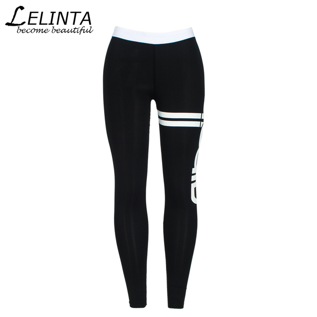 5f70ce9ee LELINTA Women Sporting Leggings Print Patchwork Female Workout Fitness  Legging Pants Slim Wicking Force Exercise Clothes