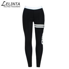 LELINTA Women Sporting Leggings Print Patchwork Female Workout Fitness Legging Pants Slim Wicking Force Exercise Clothes