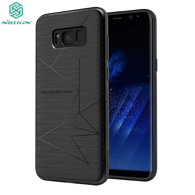 hot sales 0cbdf 5045f US $9.9 |NILLKIN Magic Case For Samsung Galaxy S8 Plus Luxury Matte Back  Cover Magnetic Function Phone Case For Samsung Galaxy S8+-in Fitted Cases  ...