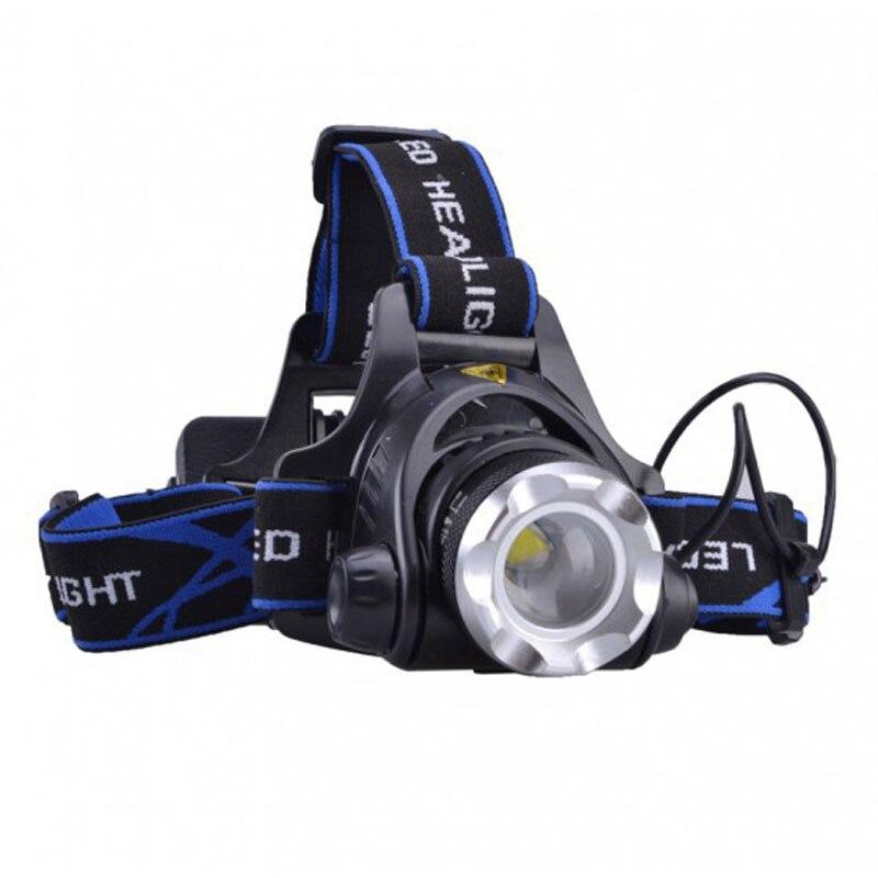 Cree XM-L T6 Led Headlamp Super Bright Headlight Waterproof Head Torch flashlight Head lamp Fishing Hunting Light