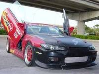 Toptan OTO LAMBO KAPıLAR Için Nissan 240SX 89-98 & Nissan Silvia 89-02 Japonya'da/Nissan 180SX/200SXS