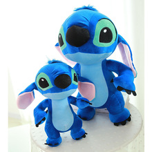 Big Size bule interstellar Doll Cute Lovely Stuffed stich Plush Dolls Baby Toy Pillows Kids Toys Gift for Children 1pc