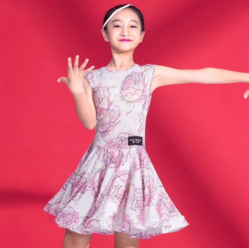 Verano Latino baile Vestidos para la muchacha Verde Negro Rosa flor ...
