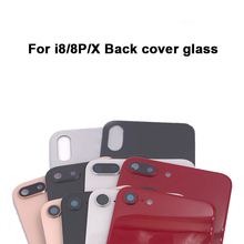 New Front Bezel Chassis Frame cover housing glass For iPhone 8 8g plus LCD Middle frame battery back GLASS