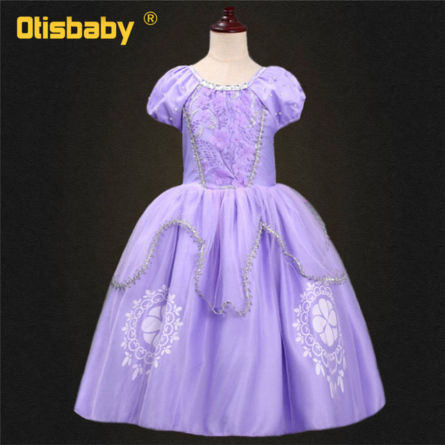 Sofia Dress Fluffy Rapunzel...