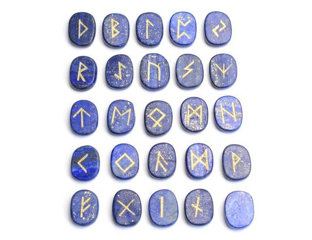 Natural Lapis Lazuli Carved Crystal Reiki Healing Palm Stones
