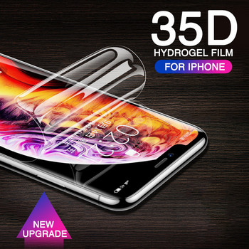 Full Curved Screen protector Soft Hydrogel For iphone (Film Not Glass)