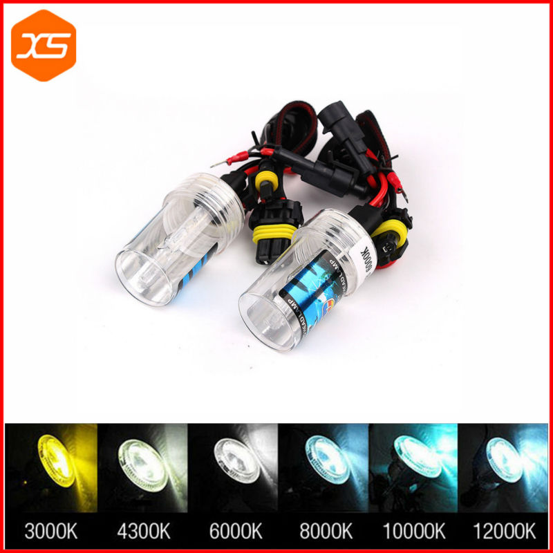 2 Car Single Xenon HID Replacement Bulbs Automobiles Headlamp White Yellow 12V 55W H7 3000 4300 6000 8000 12000K HID,h7 6000