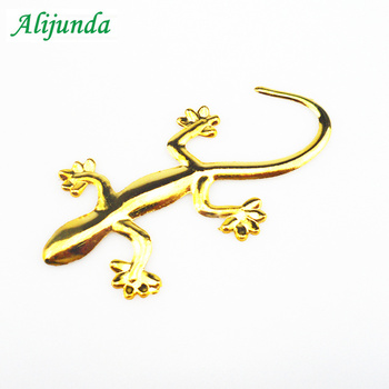 Gecko Lizard 3D Metal Car Auto Motorcycle Logo Emblem Badge Car Styling FOR Ford Buick Regal Lacrosse Excelle GT/XT/GL8 image