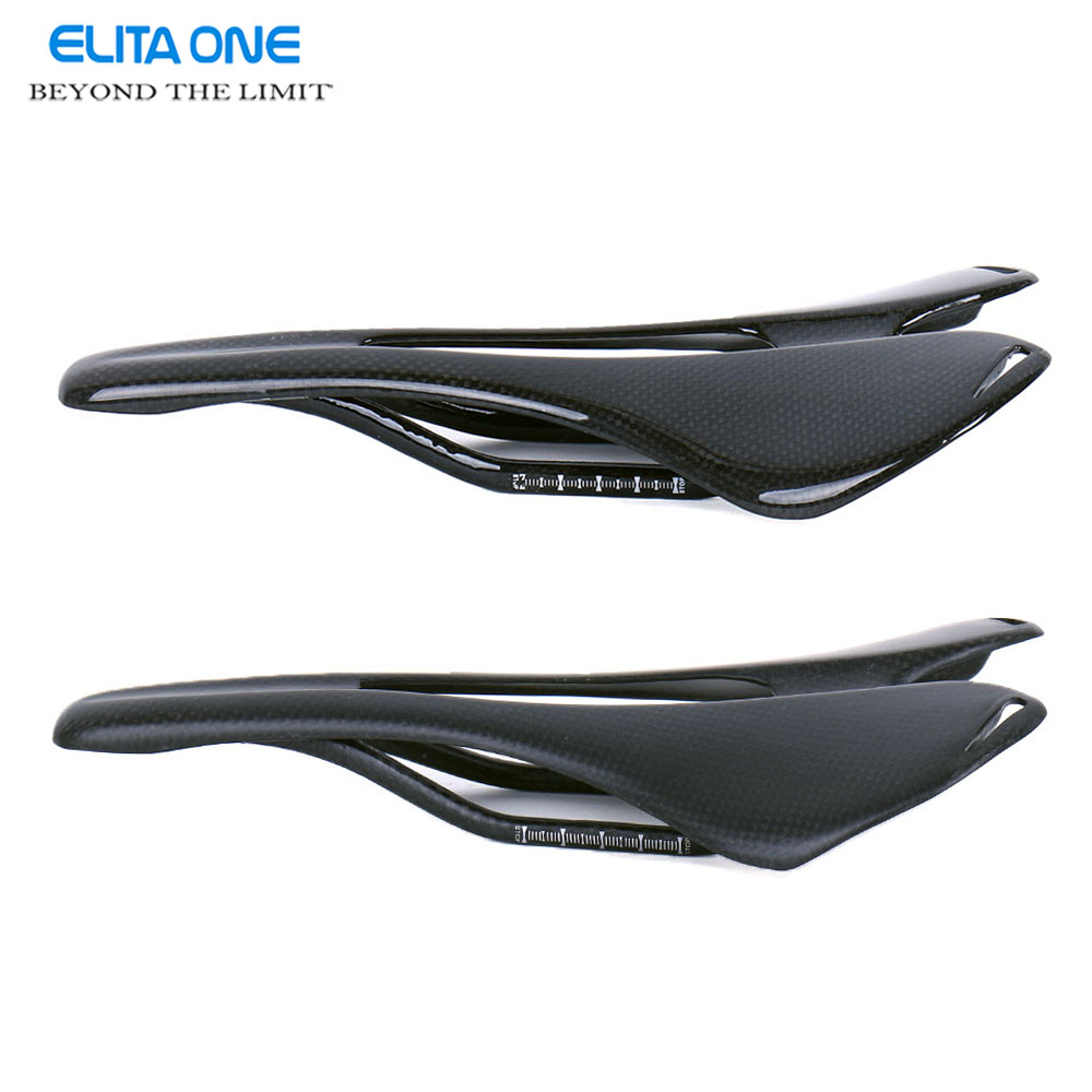 New full carbon fiber road bicycle saddle mountain mtb cycling bike seat saddle cushion bike parts bicycle accessories 3k finish newest mountain bike 3k carbon fiber full carbon saddle bicycle saddle road front seat cushion matte mtb