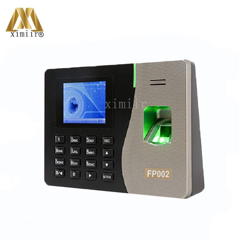 Super Cheap Price 3000 Fingerprint User Fingerprint Optical Sensor Color Inches TFT Screen TCP/IP Free SDK Time Attendance