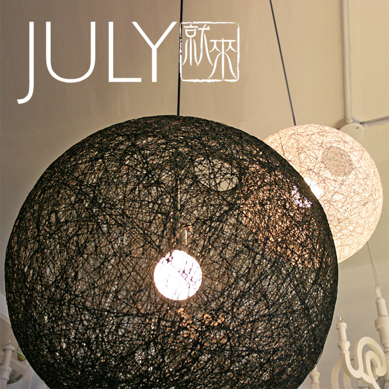 July Come To Terms Minimalist Designer Ikea Moooi Ball Of Yarn Chandelier 20 30cm In Chandeliers From Lights Lighting On Aliexpress