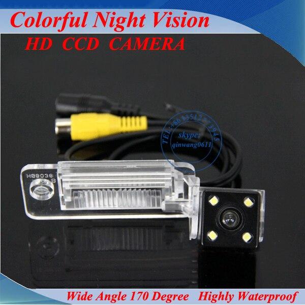 Vente chaude preuve de L'eau De Voiture spécial vue arrière revese caméra système de sauvegarde avec la ligne virtuelle pour AUDI TT A4L A5