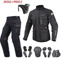 Free shipping 1set Motocross Jacket Moto Windproof Waterproof Keep Warm Off road Clothing Moto Suits Motorcycle Jacket and Pants