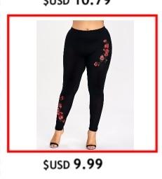 db64772afb Gamiss Plus Size 5XL Lace Trim Ripped Leggings Women Fashion Skinny ...