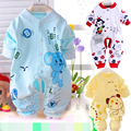 2015 baby clothing rompers Multiple colors baby boys/girls clothes Pure cotton Newborn Autumn Long sleeve infant clothing 0-9M