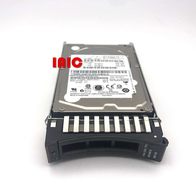 100 New In box 3 year warranty 90Y8877 90Y8878 90Y8881 300G 10K SAS 2 5 X3650M4